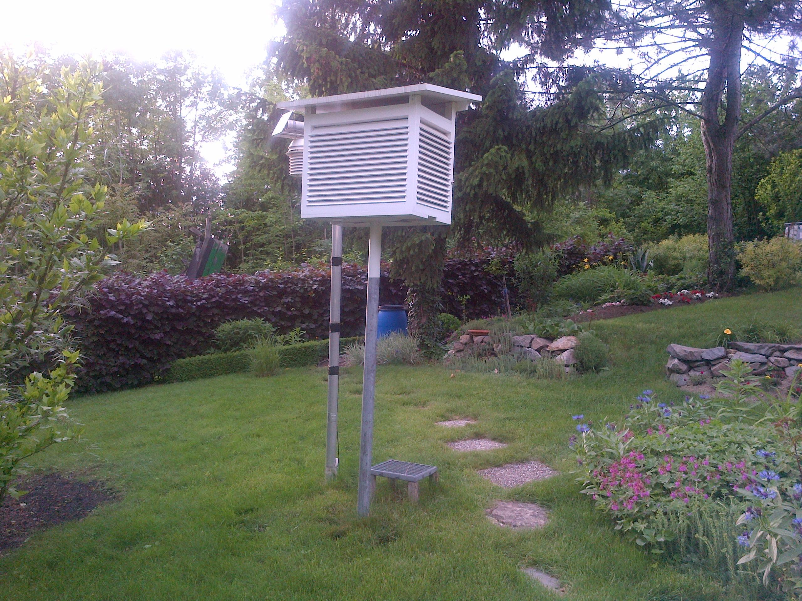 WMO Standard Wetterhütte