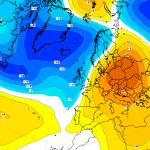 500 hpa gpdm Abweichung vom Klimamittel für 17.12.2013 00z © Wetterzentrale.de
